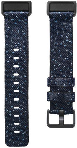 Fitbit Charge 4 Nylon Bandje Blauw L Main Image