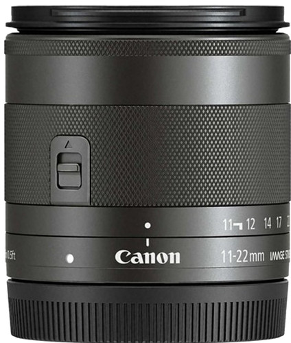 Canon EF-M 11-22mm f/4-5.6 IS STM Zwart Main Image