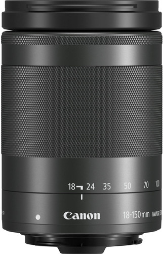 Canon EF-M 18-150mm f/3.5-6.3 IS STM Zwart Main Image