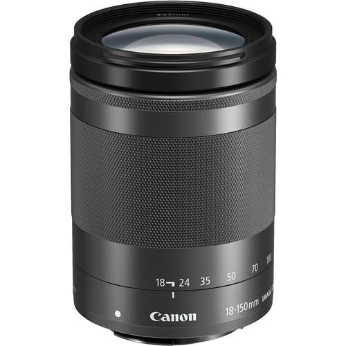 Canon EF-M 18-150mm f/3.5-6.3 IS STM Zwart Main Image