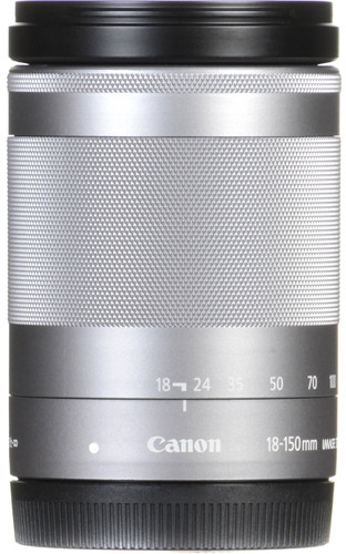 Canon EF-M 18-150mm f/3.5-6.3 IS STM Zilver Main Image