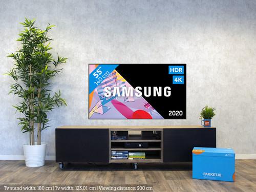 Samsung QLED 55Q64T (2020) visual Coolblue 1