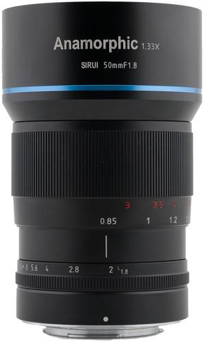 Sirui 50mm f/1.8 Anamorphic Sony E-mount Main Image