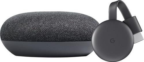 Google Nest Mini Gray + Google Chromecast V3 Main Image