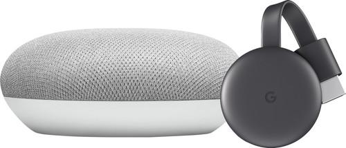 Google Nest Mini Wit + Google Chromecast 3 Main Image