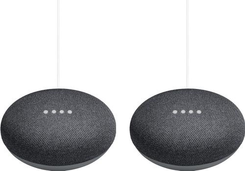 Google Nest Mini Gray Duo Pack Main Image