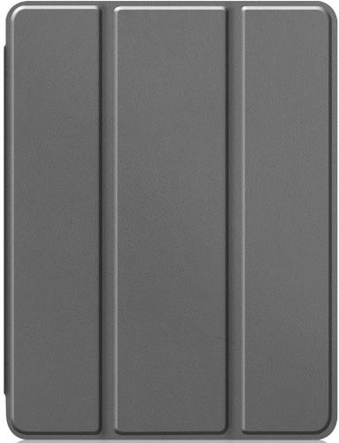 Just in Case Tri-Fold Apple iPad Pro 12,9 inch (2020) Book Case met Pencil Houder Grijs Main Image