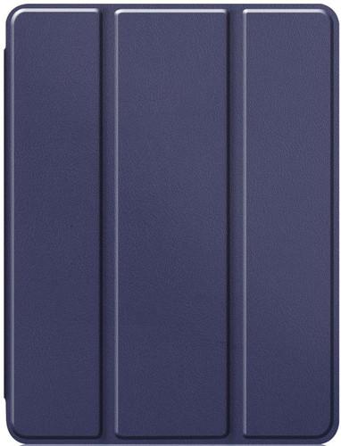 Just in Case Tri-Fold Apple iPad Pro 11 inch Book Case met Pencil Houder Blauw Main Image