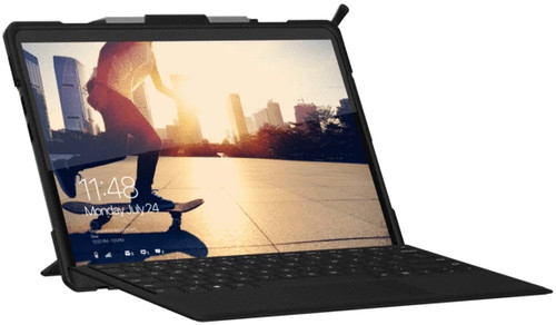UAG Metropolis Surface Pro X Book Case Blauw Main Image