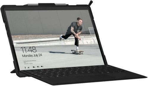 UAG Metropolis Surface Pro X Book Case Zwart Main Image