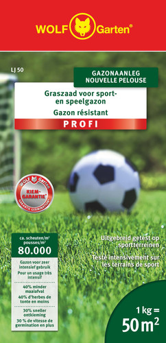 Wolf Garten Grass Seed Sports and Games 50m² LJ 50 Main Image