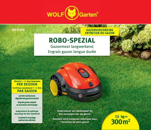 Wolf Garten Robo Langwerkende Gazonmest RO-S 300 Main Image