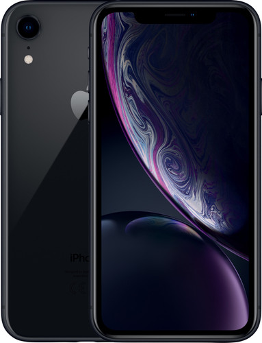 Refurbished iPhone Xr 128GB Zwart Main Image