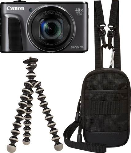 Canon PowerShot SX720 HS Zwart Main Image