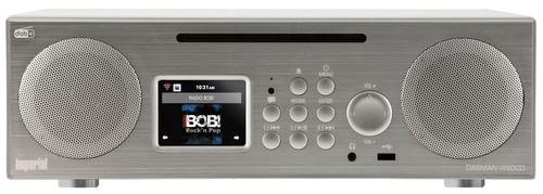DABMAN I450 CD zilver Main Image