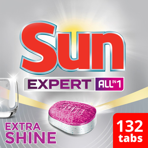 Sun Expert Extra Shine All-in-1 - 132 stuks Main Image