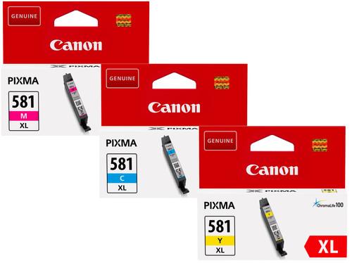 Canon CLI-581XL Cartridges Combo Pack Main Image