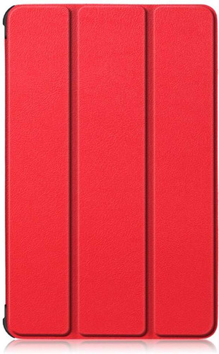 Just in Case Tri-Fold Lenovo Tab M10 Plus Book Case Red Main Image