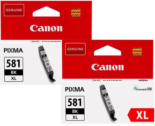Canon CLI-581XL Cartridges Black Duo Pack Main Image