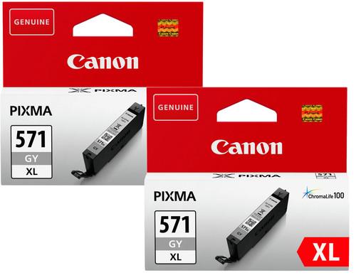 Canon CLI-571XL Cartridges Gray Duo Pack Main Image