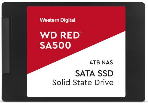 WD Red SA500 NAS 2,5 inch SSD 4TB Main Image