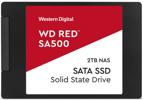 WD Red SA500 NAS 2.5-inch SSD 2TB Main Image