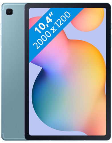 Samsung Galaxy Tab S6 Lite 128 GB Blauw Wifi + 4G Main Image