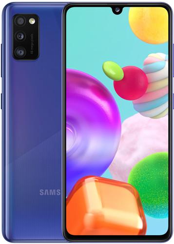 Samsung Galaxy A41 64GB Blauw Main Image