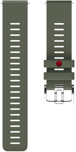 Polar Silicone Strap Green M/L 22mm Main Image