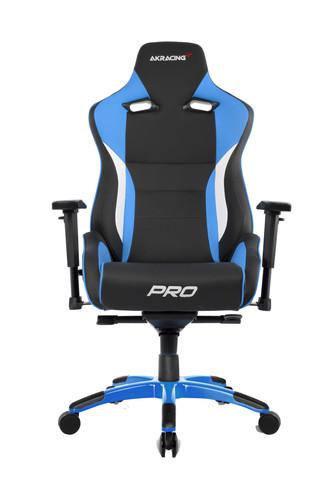 AKRacing Gaming Chair Master Pro - Zwart / Blauw Main Image