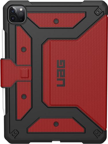 UAG Metropolis Apple iPad Pro 12,9 inch (2020) Book Case Rood Main Image