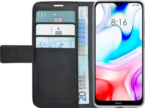 Azuri Wallet Magneet Xiaomi Redmi Note 8 Book Case Zwart Main Image
