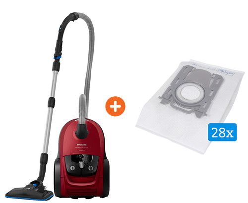 Philips Performer Silent Cat & Dog FC8784/09 + Veripart vacuum cleaner bags for Philips Main Image