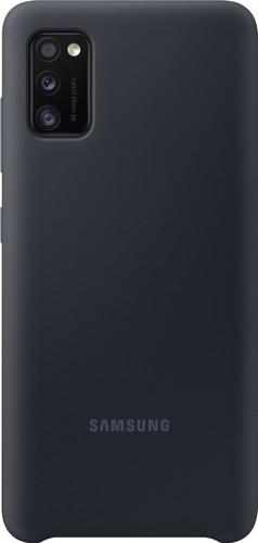 Samsung Galaxy A41 Silicone Back Cover Black Main Image