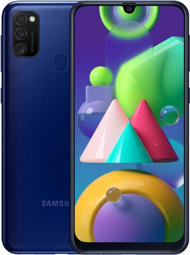 Samsung Galaxy M21 64GB Blauw Main Image