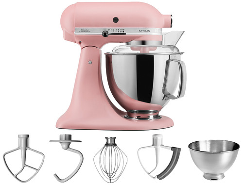 KitchenAid Artisan Mixer 5KSM175PSEDR Mat roze Main Image