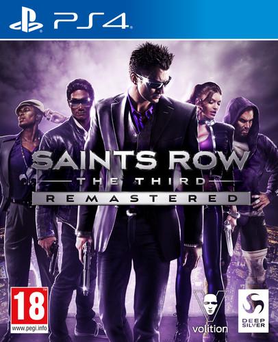Saints Row The Third Remastered PS4 Main Image