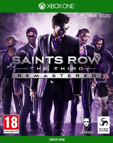 Saints Row The Third Remastered Xbox One Main Image