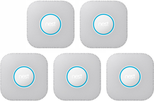 Google Nest Protect V2 Netstroom 5-pack Main Image