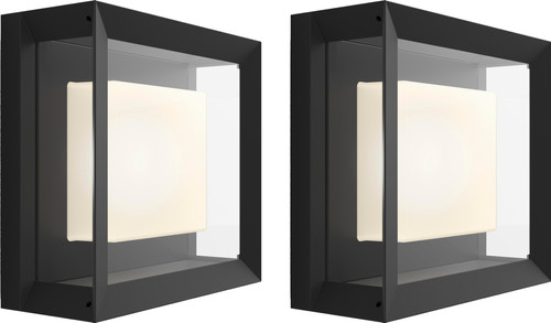 Philips Hue Econic Wandlamp Modern Buiten Duo Pack Main Image