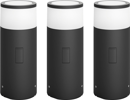 Philips Hue Calla Pedestal Lamp Outdoor Starter 3-pack Main Image