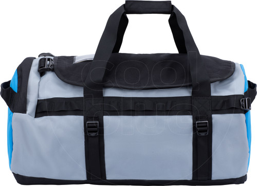 The North Face Gilman Duffel S 50L Black/Mid Grey/Clear Lake Blue Main Image