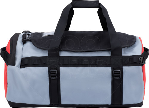 The North Face Gilman Duffel S 50L Black/Mid Grey/Fiery Red Main Image