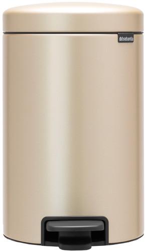 Brabantia NewIcon Pedaalemmer 12 Liter Champagne Main Image