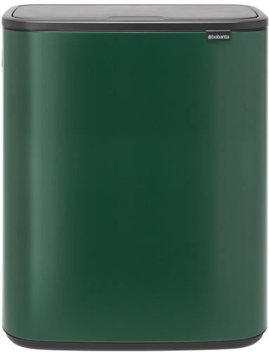 Brabantia Bo Touch Bin 2 x 30 Liter Groen Main Image