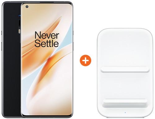 OnePlus 8 Pro 128GB Zwart 5G + OnePlus Draadloze Oplader 30W Main Image