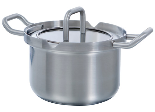 BK Q-Linair Master Glass Cooking Pot 16cm Main Image