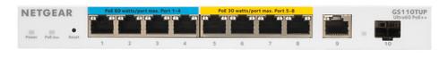 Netgear GS110TUP Main Image