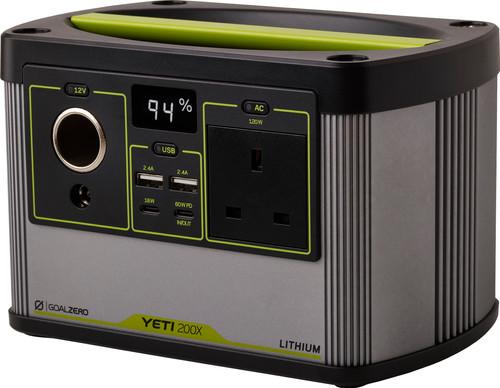 Goal Zero Yeti 200X Portable Power Station 187 Wh Main Image