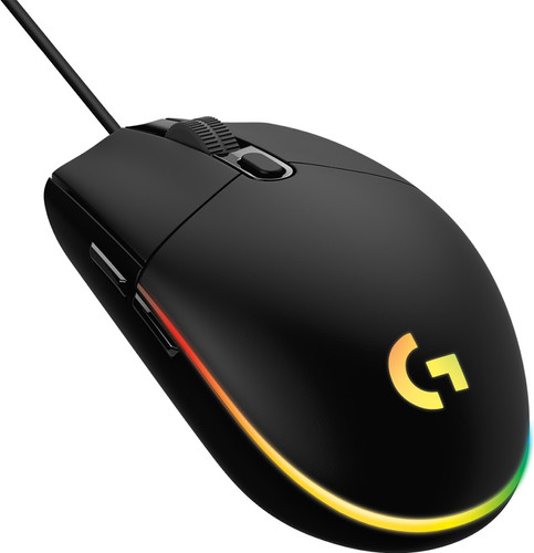 Logitech G203 Lightsync Gaming Mouse Black Main Image